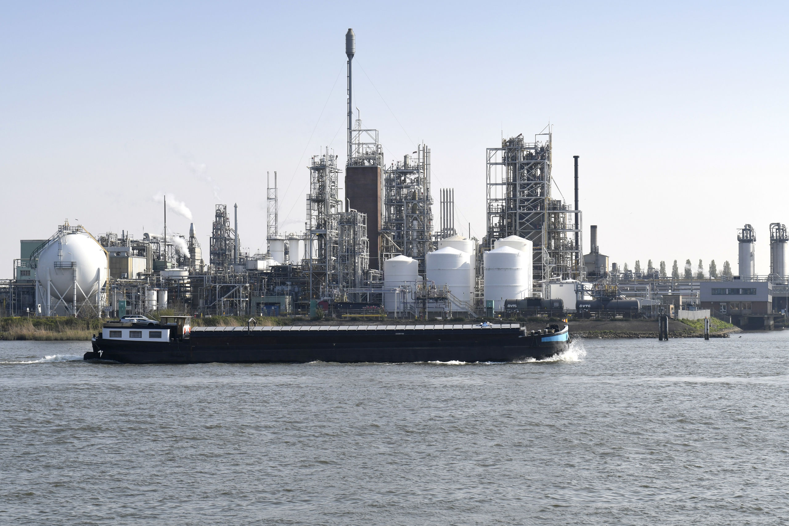 Fabriek Chemours te Dordrecht